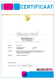 Erkende certificaten