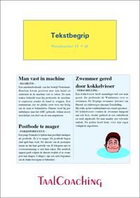 Taalcoaching | Tekstbegrip